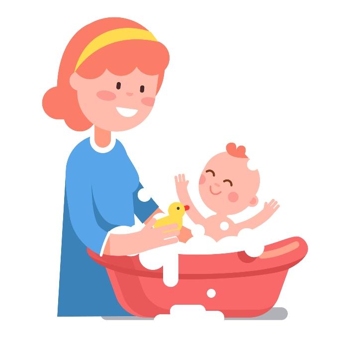 Cara Memandikan Bayi Yang Masih Ada Tali Pusar