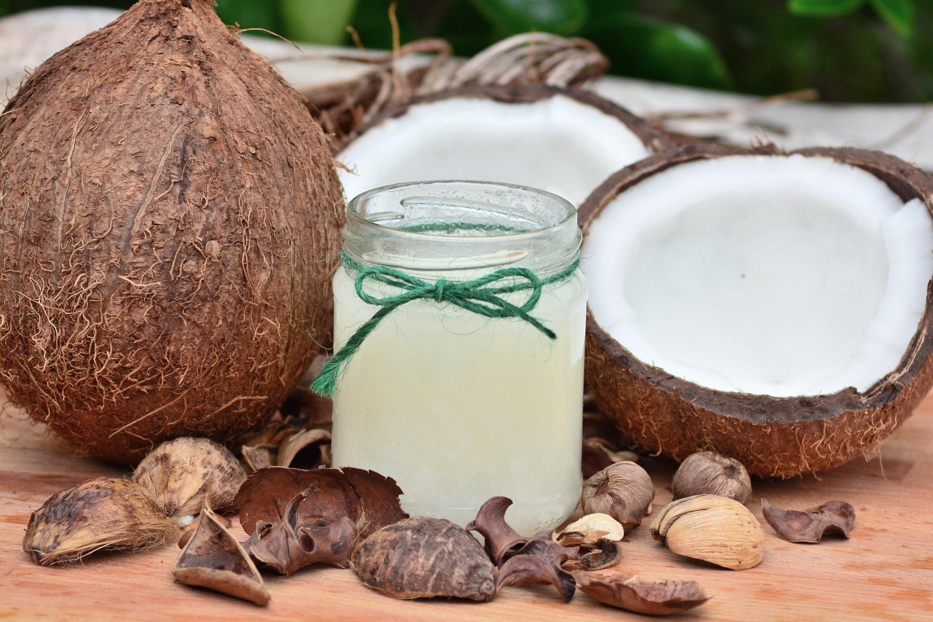 Kandungan minyak kelapa pada minyak telon