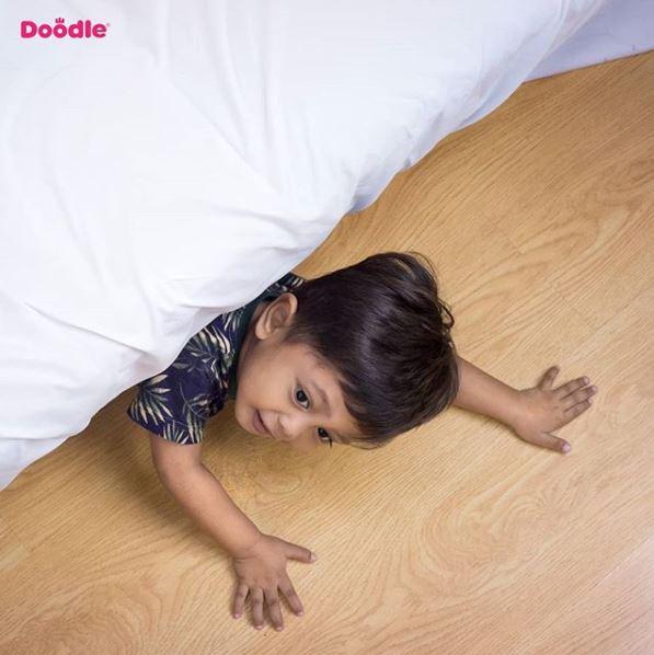 tidur bersama anak