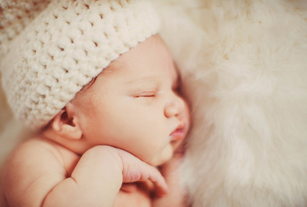 Bayi tidur mendengkur